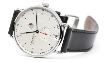 Retro-Minimal Horology: the Nomos Metro Watch