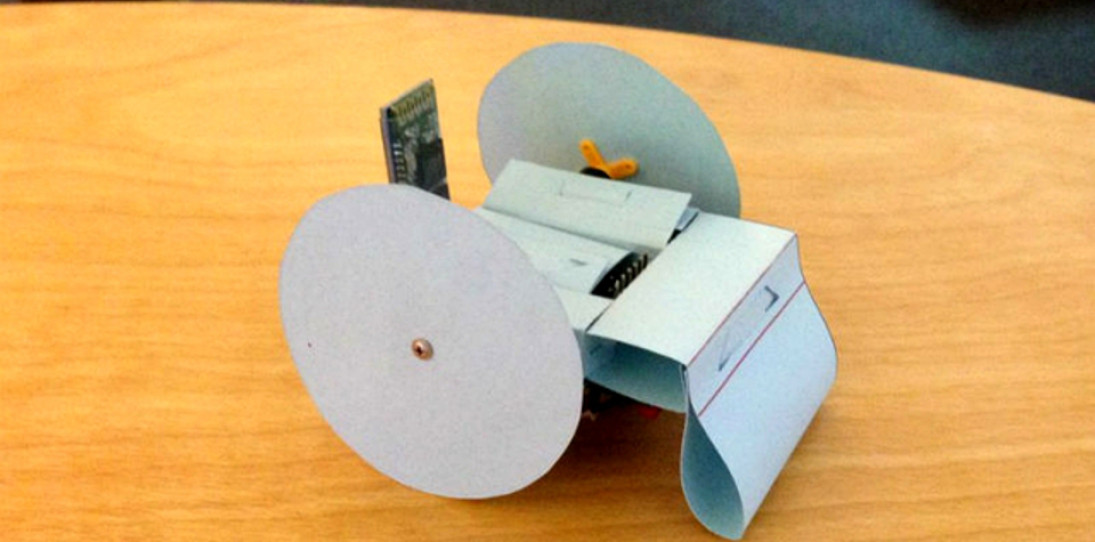 Want Your Own Robot? Soon, You'll Be Able To Make One Out Of Paper