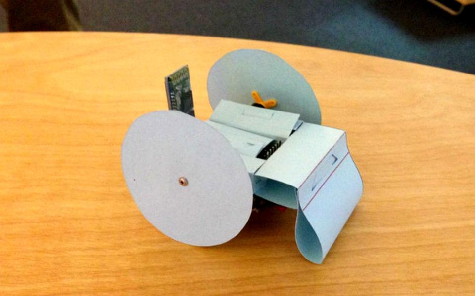 Printable Paper Robot