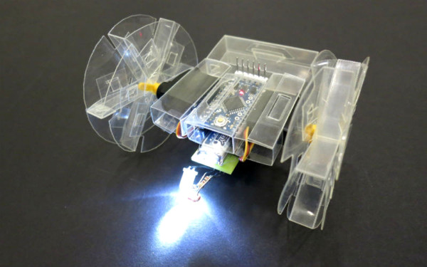 Printable Robot Light 600x375 Want Your Own Robot? Soon, Youll Be Able To Make One Out Of Paper