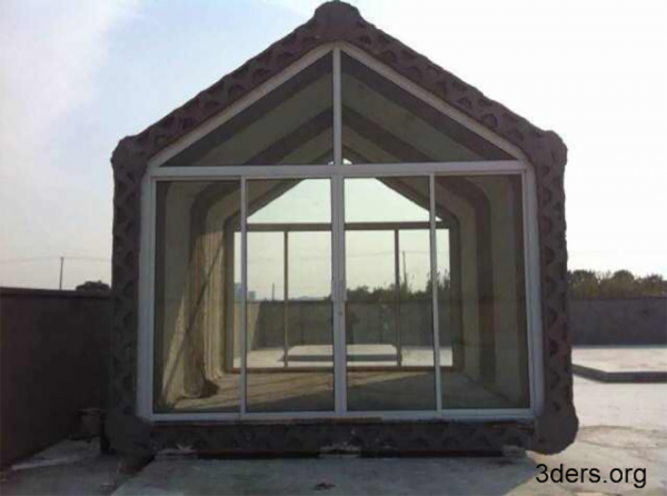 WinSun 3D printed houses 6 600x446 In China, Inexpensive 3D Printed Houses Are Now A Thing