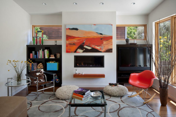 cloud street residence by awa 5 600x399 Mid Century Revival: from Claustrophobic Cottage to a Bright and Airy Family Home