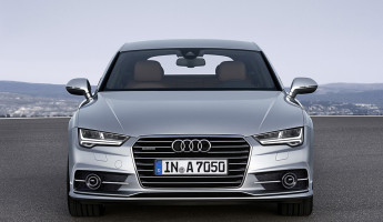 2015 Audi A7 Sportback - Front One Point Perspective
