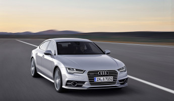 2015 Audi A7 Sportback - Rolling Front Angle