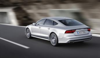 2015 Audi A7 Sportback - Rear Angle Rolling
