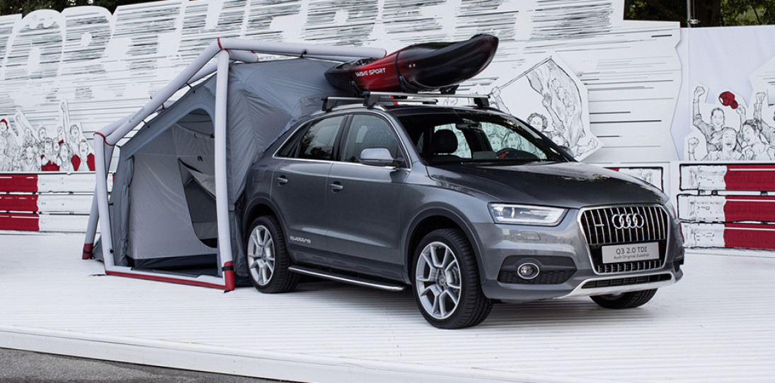 Audi Q3 Tent by Heimplanet: High Performance Camping