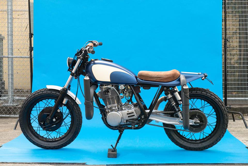 Deus Ex Machina Smirk Custom Motorcycle 11