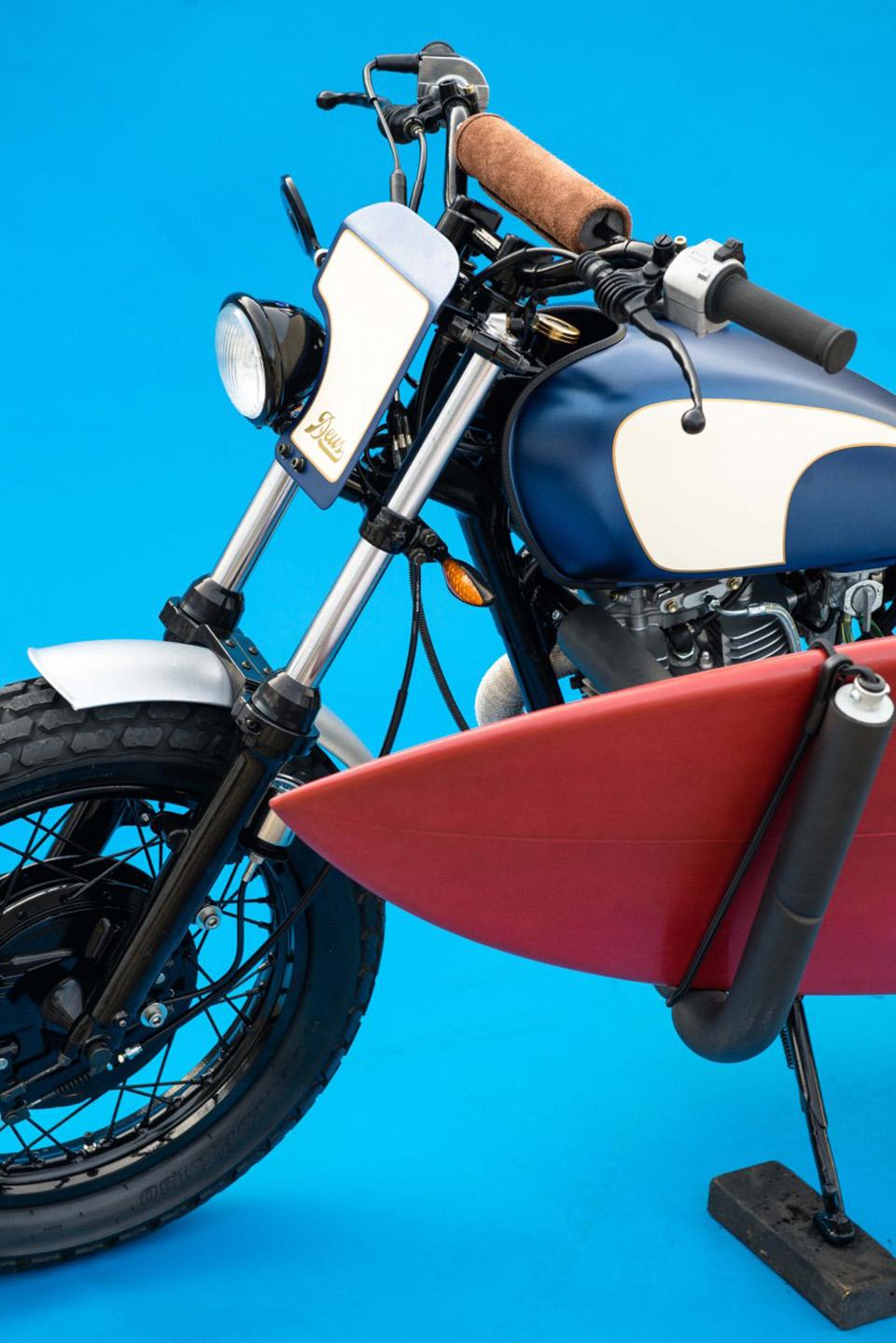 Deus Ex Machina Smirk Custom Motorcycle 14