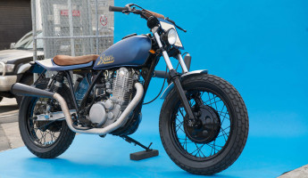 Deus Ex Machina Smirk Custom Motorcycle