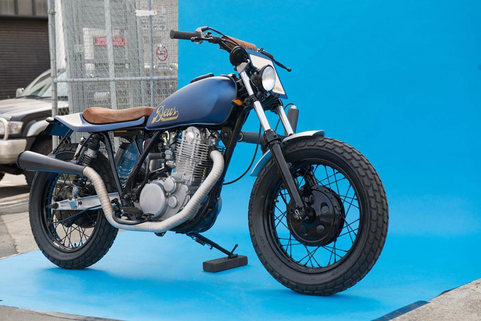 Deus Ex Machina Smirk Custom Motorcycle 15