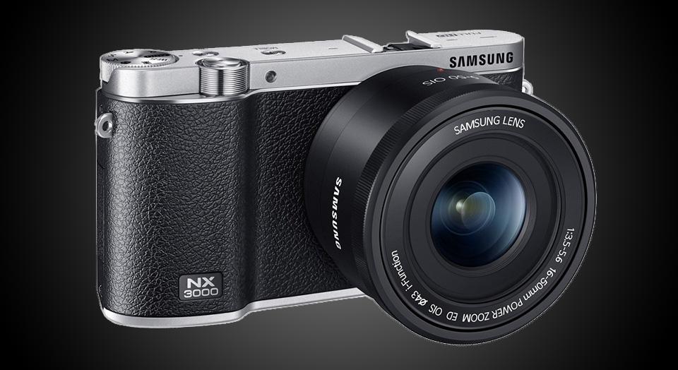 Digital Cameras with WiFi – Samsung NX3000