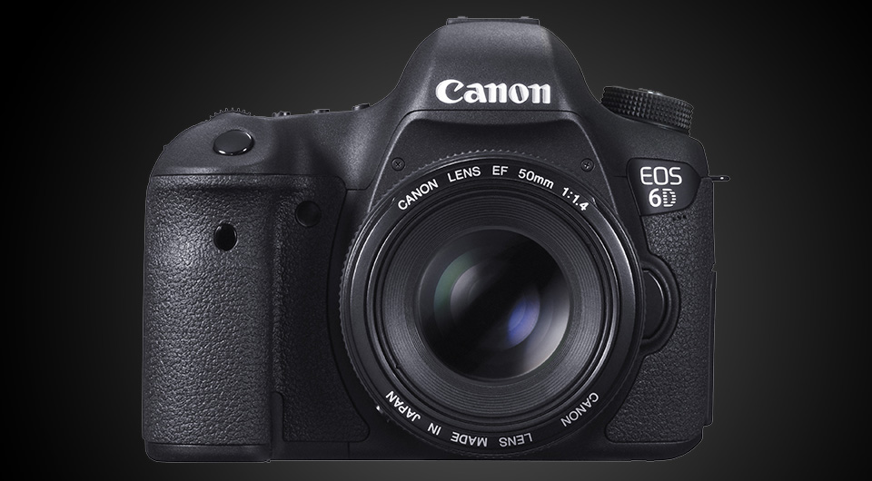 Digital Cameras with Wifi – Canon EOS 6D