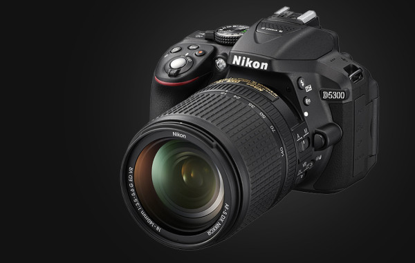 Digital Cameras with Wifi - Nikon D5300 DSLR