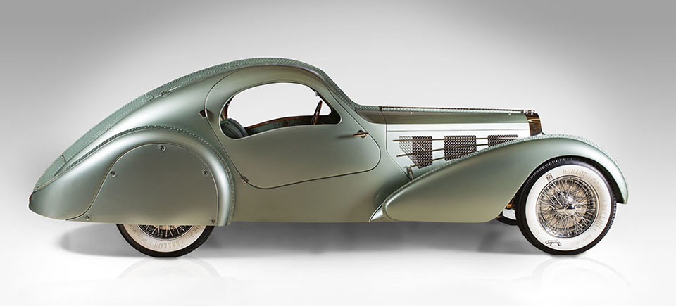 Dream Cars – High Museum of Art Atlanta – Bugatti Type 57S Compétition Coupé Aerolithe