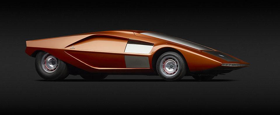 Dream Cars – High Museum of Art Atlanta – Lancia (Bertone) Stratos HF Zero