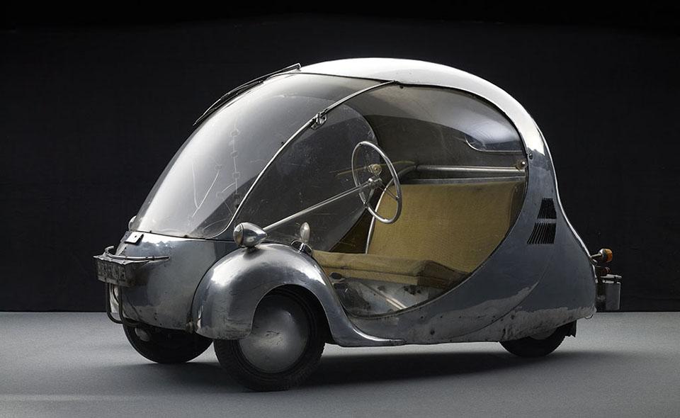 Dream Cars – High Museum of Art Atlanta – Paul Arzens L'Œuf électrique