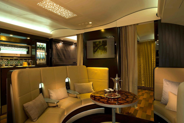 Etihad Airways Offers a First Class Apartment for Top Paying Passengers 2 600x400 Etihad Airways Offers a First Class Apartment in the Sky
