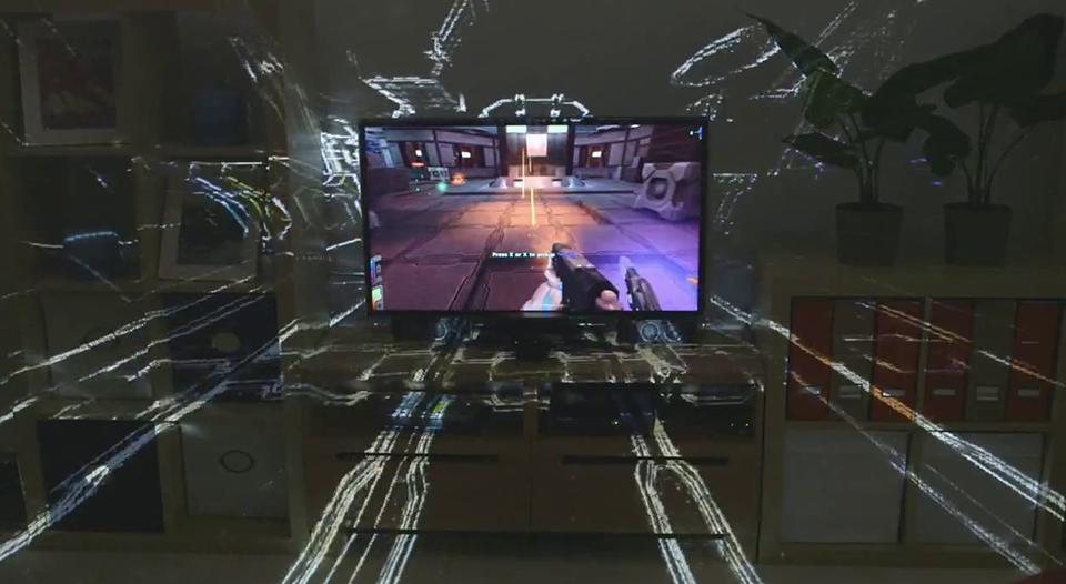 Future Gaming Technology 2014 – Microsoft Illumiroom 3