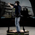 Future Gaming Technology 2014 - Virtuix Omni Virtual Reality Treadmill 3