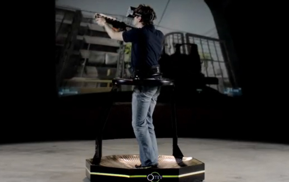 Future Gaming Technology 2014 – Virtuix Omni Virtual Reality Treadmill 3
