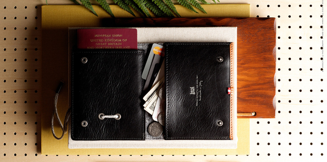 Hard Graft Inbound Passport Wallet