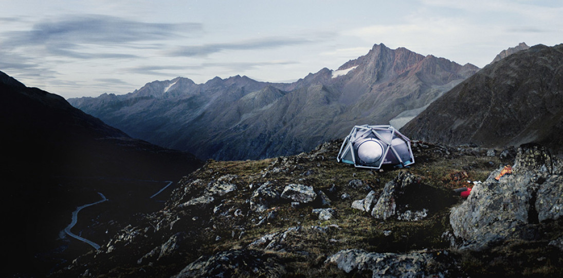 Heimplanet Mavericks Tent Inflates for Extreme Weather Camping