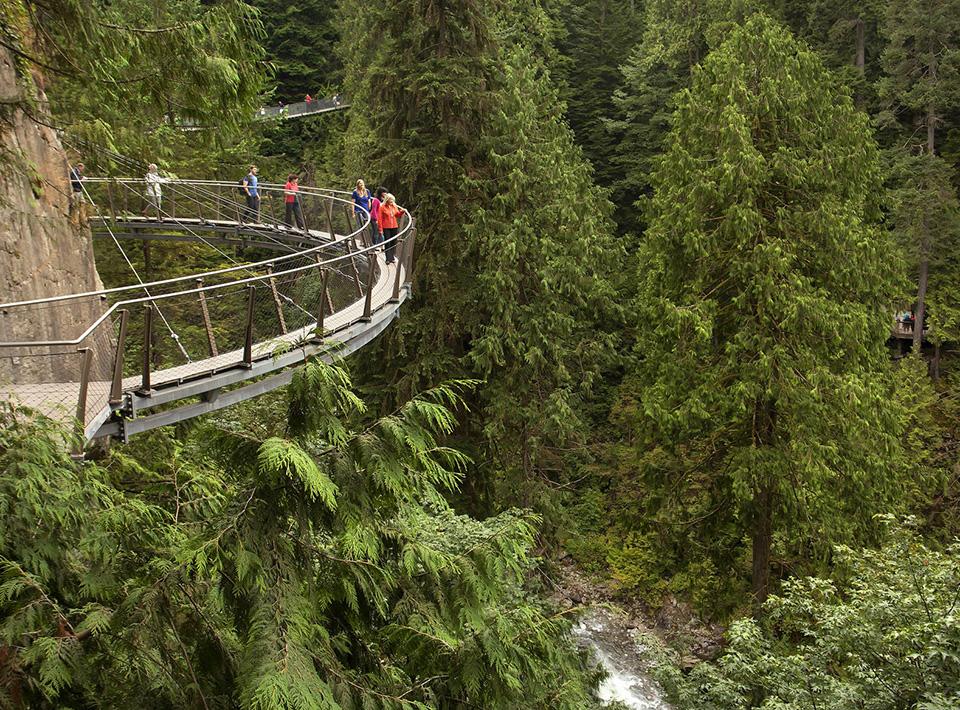 Highest Observation Decks - Capilano Suspension Bridge Park 1