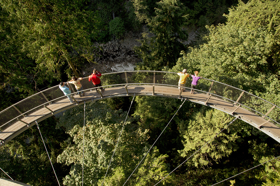 Highest Observation Decks – Capilano Suspension Bridge Park 2