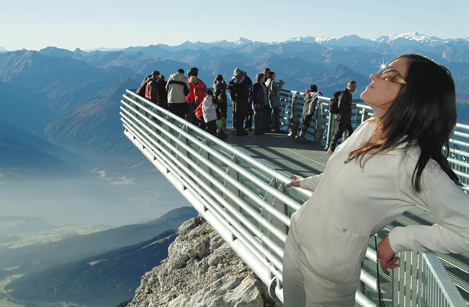 Highest Observation Decks – Dachstein Sky Walk 2