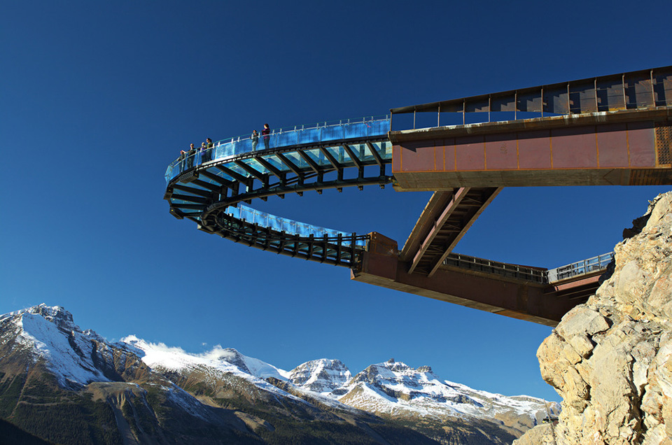 Highest Observation Decks – Glacier Skywalk 1