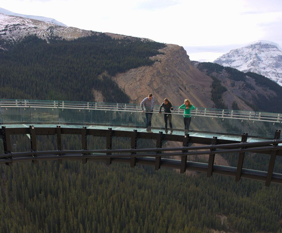 Highest Observation Decks – Glacier Skywalk 3