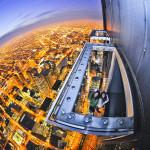 Highest Observation Decks - The Ledge at Skydeck Chicago 2