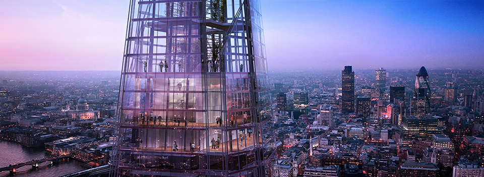 Highest Observation Decks – The View from the Shard 1