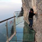Highest Observation Decks - Tianmen Mountain Glass Platform 2
