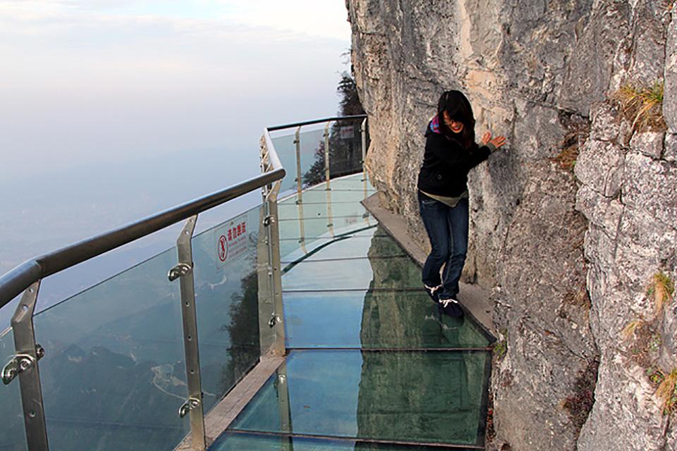Highest Observation Decks – Tianmen Mountain Glass Platform 2