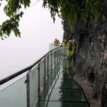 Highest Observation Decks - Tianmen Mountain Glass Platform 3