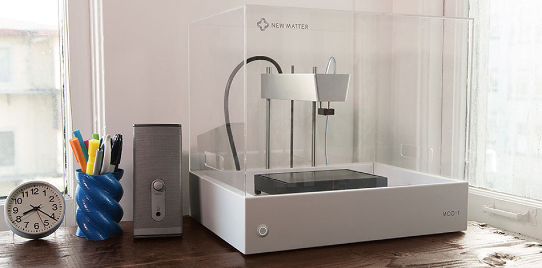 New Matter MOD-t 3D Printer is the Most Affordable To Date