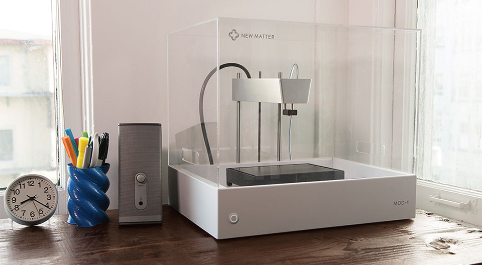 New Matter Mod-t 3D Printer 1