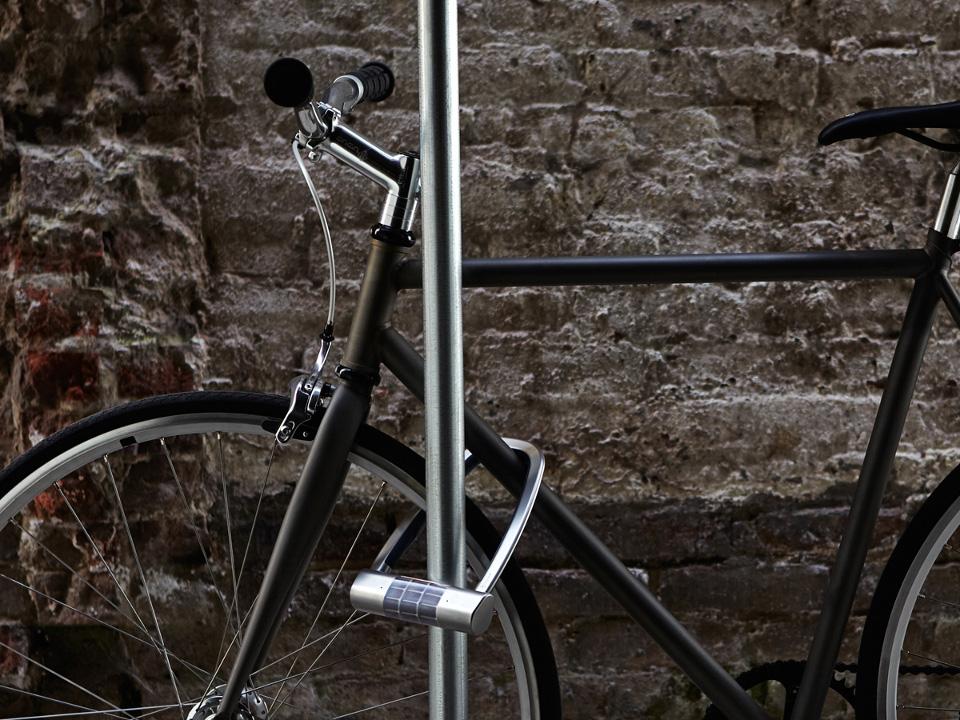 Solar Powered Bike Lock