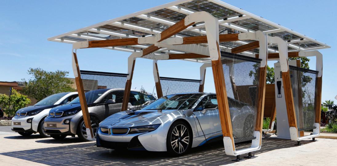 BMW Solar Carport Provides Grid-Free Driving