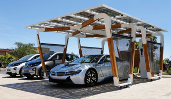 BMW Solar Carport Provides Grid-Free Driving