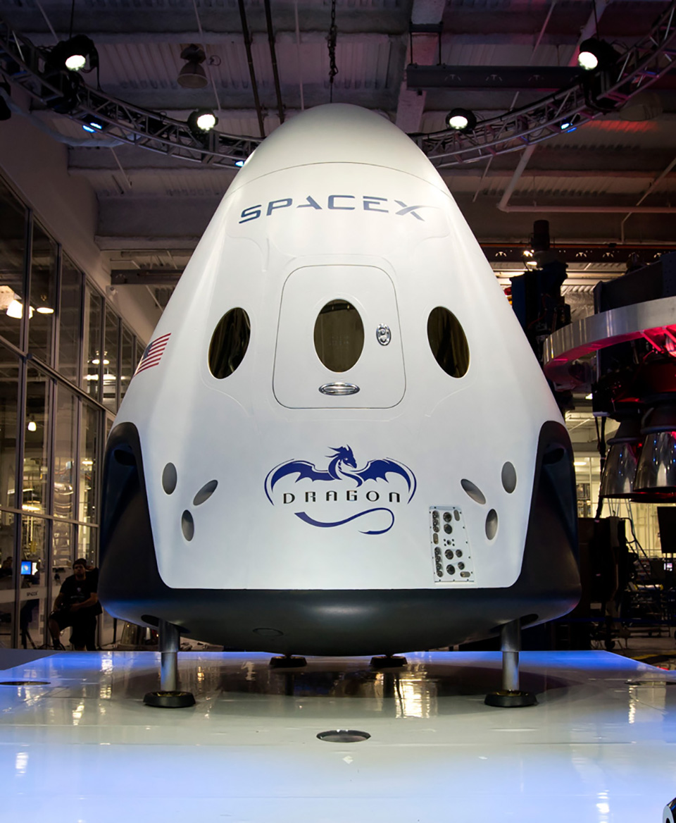 SpaceX Dragon V2 Launch Capsule 10