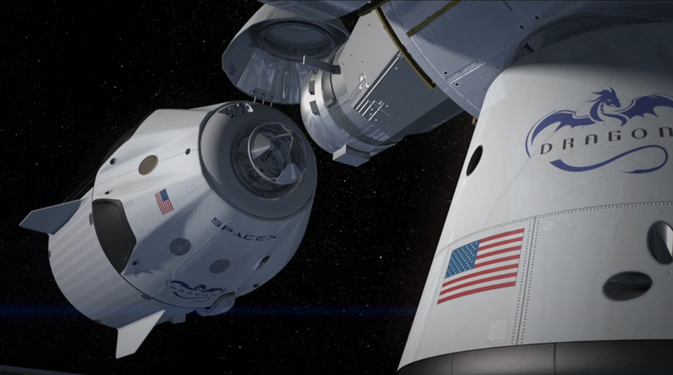 SpaceX Dragon V2 Launch Capsule 6