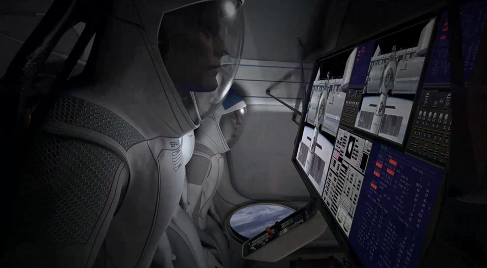 SpaceX Dragon V2 Launch Capsule 7