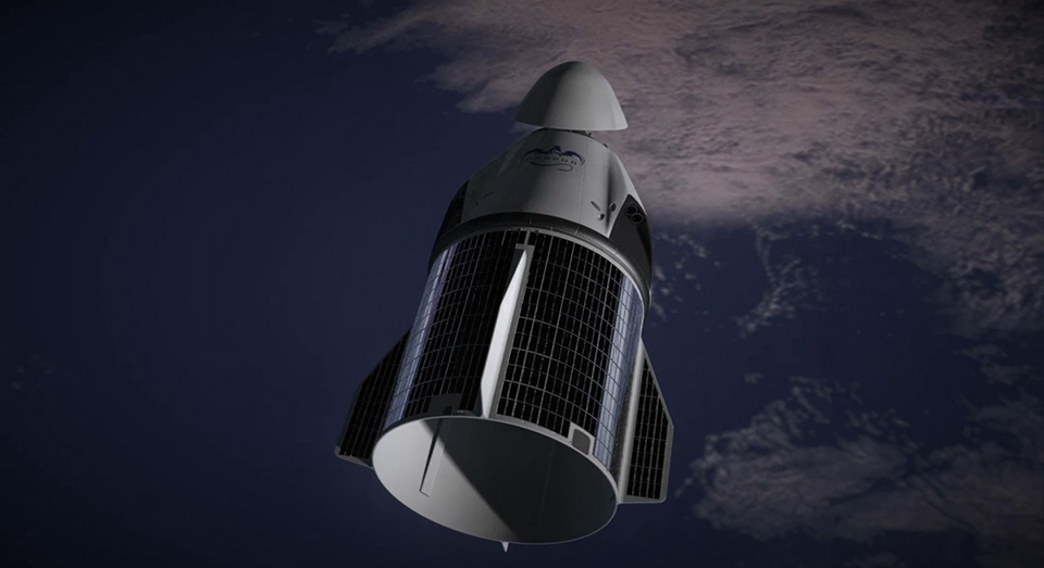 SpaceX Dragon V2 Launch Capsule 8