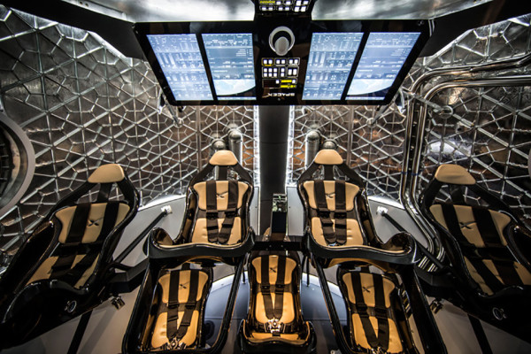 SpaceX Dragon V2 Launch Capsule 9 600x400 SpaceX Dragon V2 Will Revolutionize Space Travel