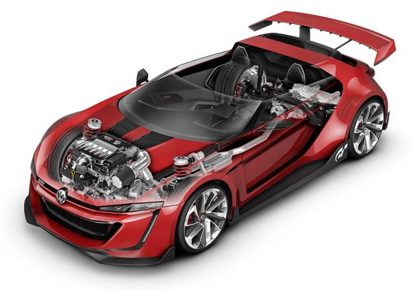 Volkswagen GTI Roadster Vision Gran Turismo 5 600x424 Volkswagen GTI Roadster   Vision Gran Turismo Concept