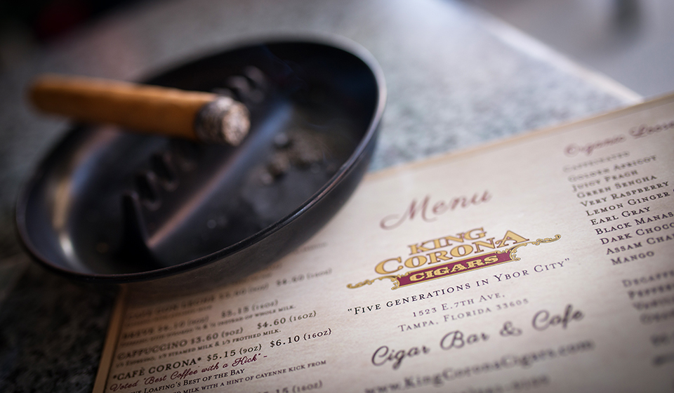 Ybor-City-Cigar-Capitol---King-Corona-Menu
