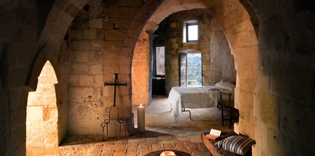 Sextantio Le Grotte Della Civita Hotel is a Maze of Beautifully Restored Ancient Caves