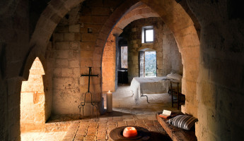 Sextantio Le Grotte Della Civita Hotel is a Maze of Beautifully Restored Ancient Caves